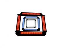 机器视觉网:四面组合条形光源